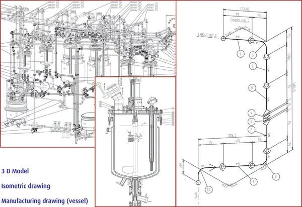Design, construction and start-up of a pilot plant for