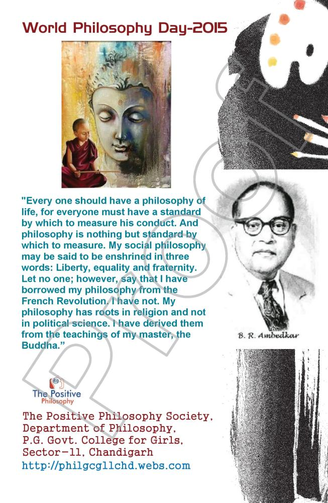 World Philosophy Day-2015