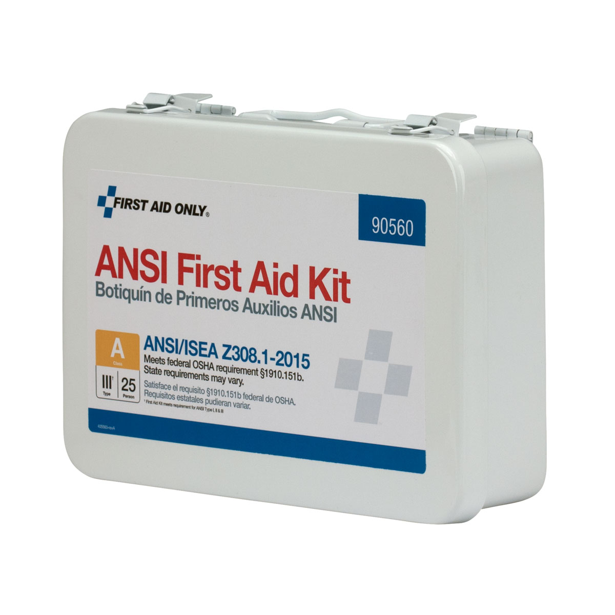 25 Person First Aid Kit Ansi A Class Iii
