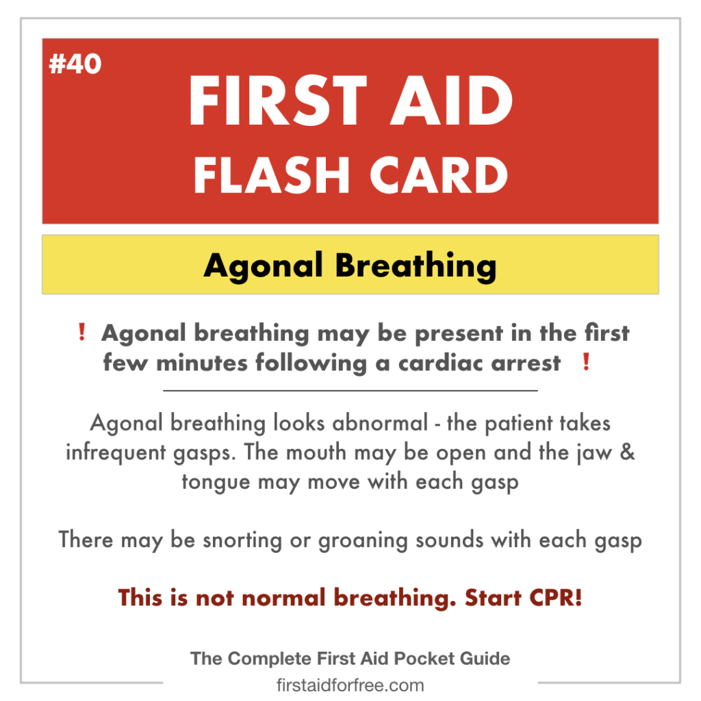 How To Recognize Agonal Breathing Cpr Test