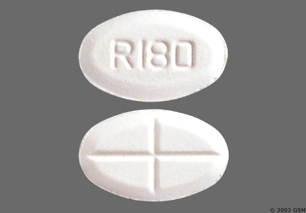I the pill with R180 stamped on it a pain medication