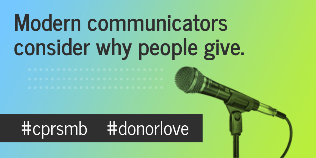 Donor Communications: Why They Give