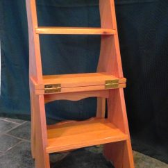 Library Chair Ladder Plans Fishing Recliner Chairs And Benches  Cpr Woodworking