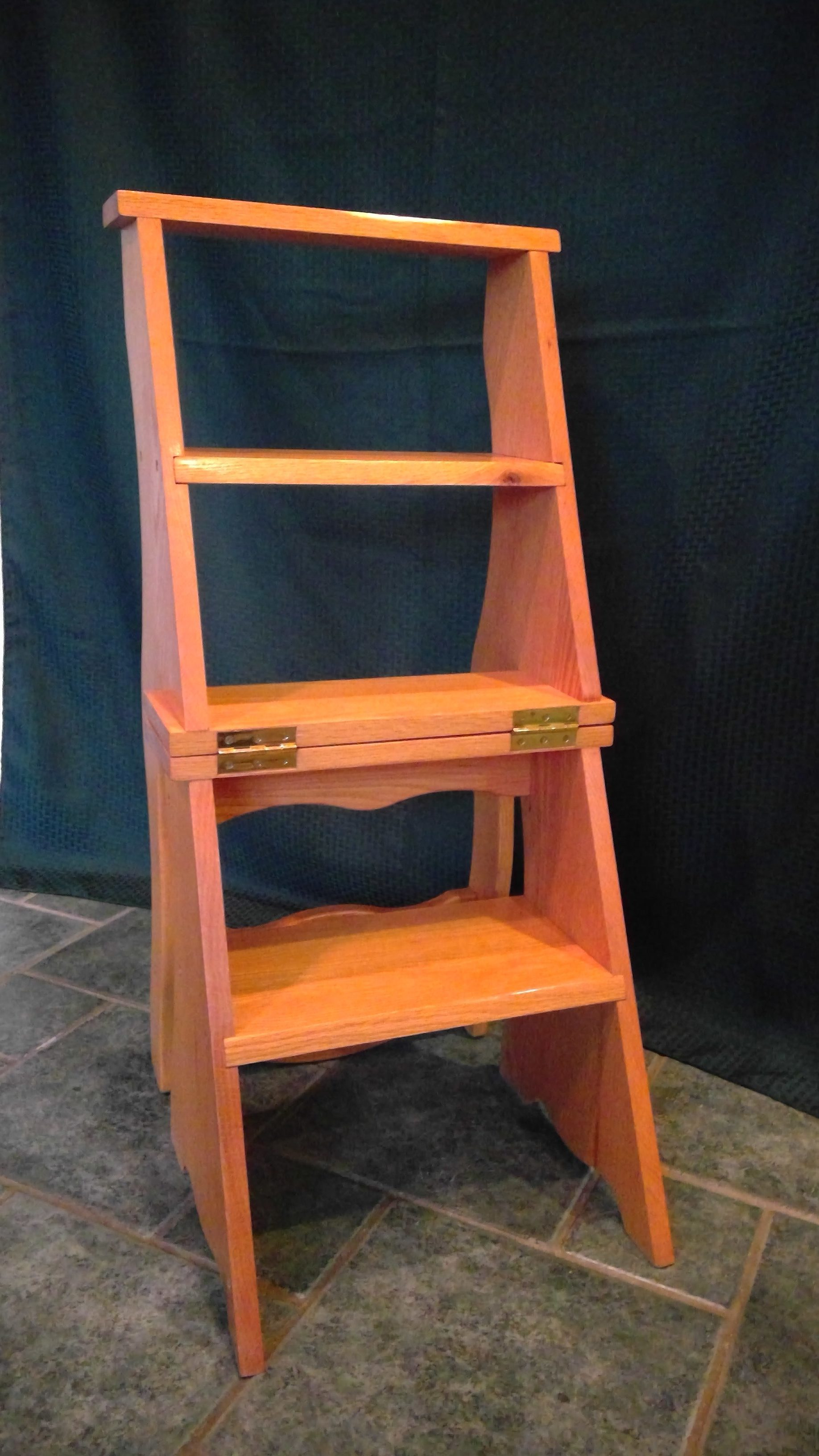 Library Ladder Chair Chairs And Benches Cpr Woodworking