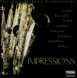 The Art Of Jazz Saxophone Impressions  Various Artists