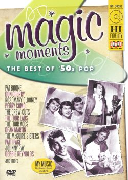 Magic Moments The Best Of 50 S Pop Dvd Various