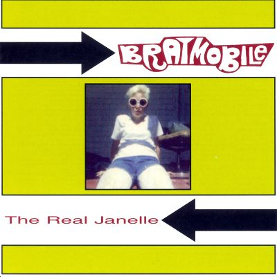 """<Bratmobile-The-Real-Janelle-album-cover"