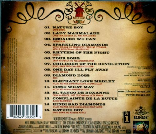 Moulin Rouge Original Soundtrack  Various Artists  Songs Reviews Credits  AllMusic