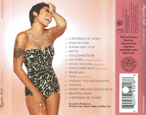 A Different Me  Keyshia Cole  Songs, Reviews, Credits