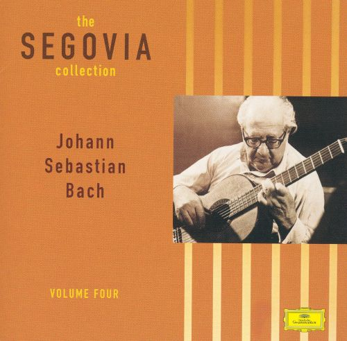 The Segovia Collection, Vol 4  Andrés Segovia  Songs