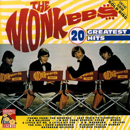 20 Greatest Hits  The Monkees  Songs Reviews Credits