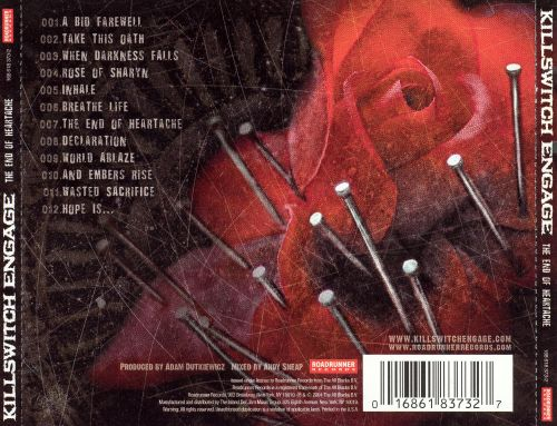 The End of Heartache  Killswitch Engage  Songs Reviews