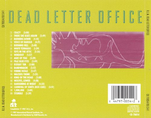 Dead Letter Office  REM  Songs Reviews Credits  AllMusic