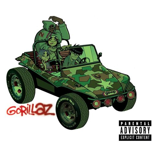 Image result for gorillaz gorillaz album