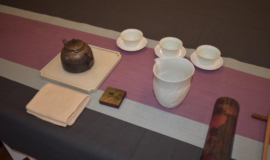 茶藝美學課程2-茶席佈置 修習茶藝課程