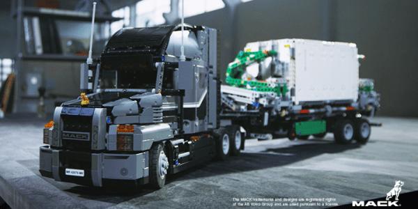 Anthem Mack Trucks de Lego Technic