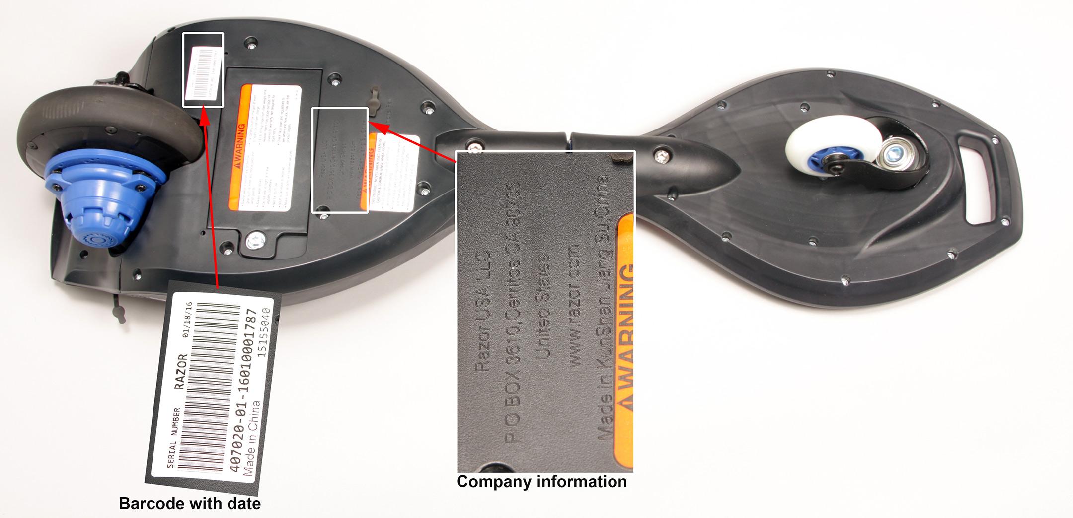 Razor Recalls Ripstik Motorized Caster Boards Due Fall