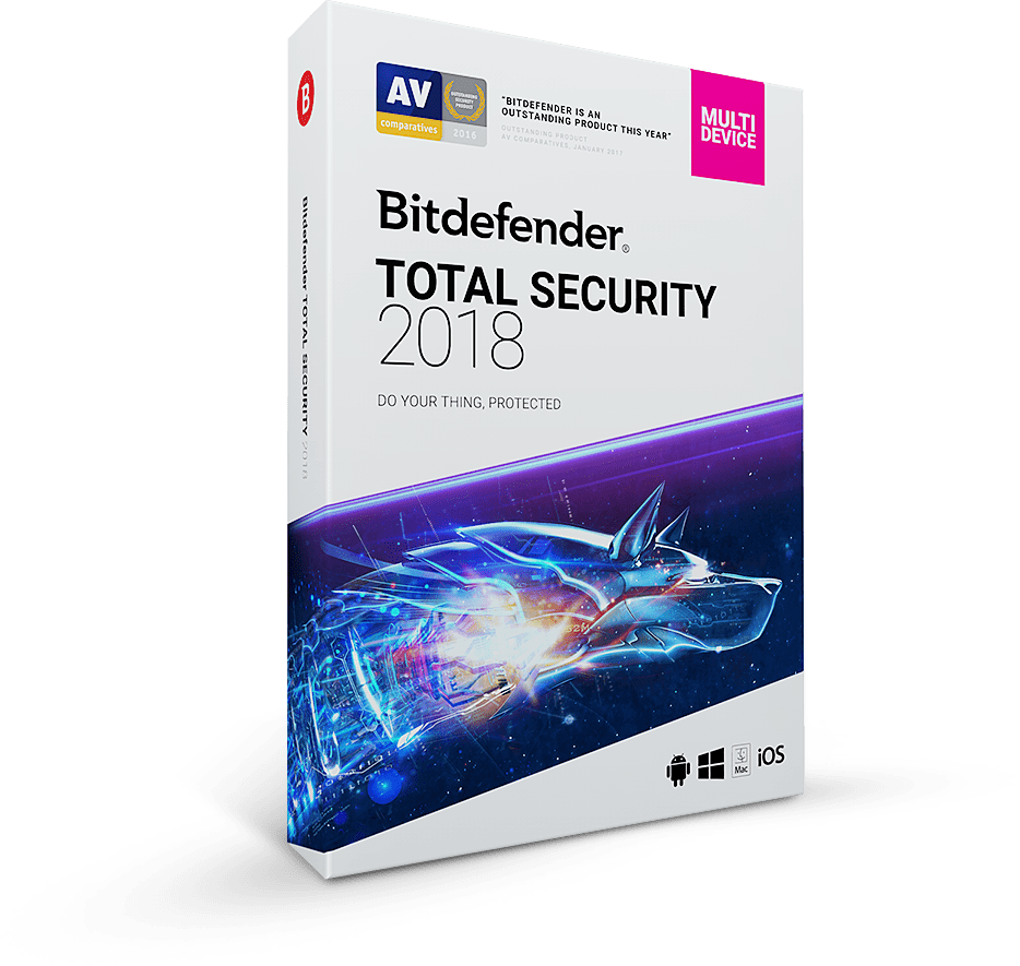 Bitdefender Total Security 2018 Crack + Activation Code Download