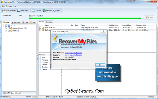 Recover My Files Full Version With Crack Free Download