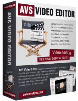 AVS Video Editor 8.0 Crack Patch Keygen Download