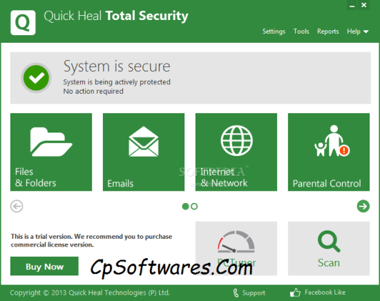 Quick Heal Total Security 2018 Crack Serial Key Full Version