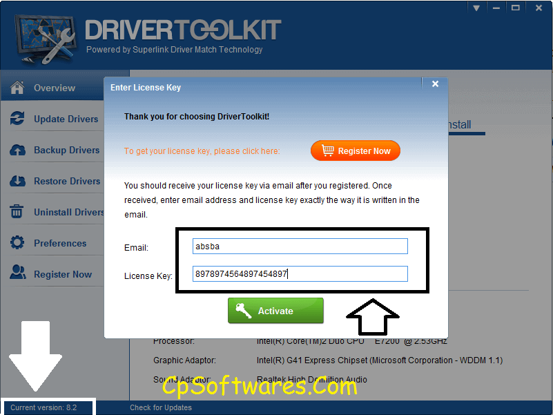 Driver Toolkit 8.5.1 License Key and Email Full Free Download