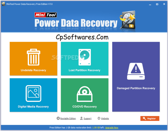 MiniTool Power Data Recovery Crack & Serial Key Free Download