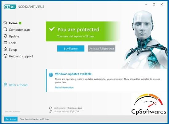 ESET NOD32 Antivirus License Key