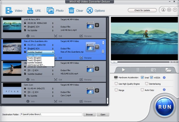 WinX HD Video Converter Deluxe License Key