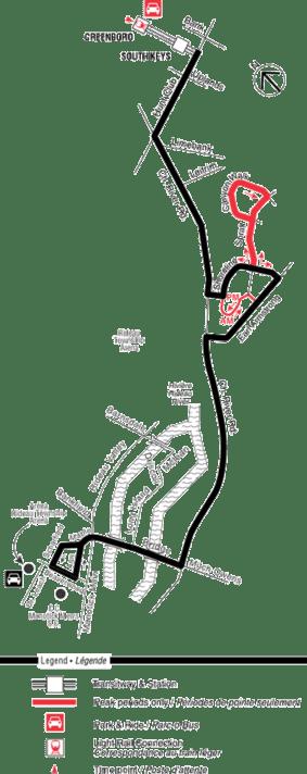 Ottawa-carleton regional transit commission route 196