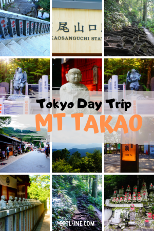 Looking for the perfect day trip from Tokyo with an off the beaten path activity? Then you need to head out and hike Mt Takao! Enjoy the gorgeous scenery of this quiet hike and discover the charming city that lay at the bottom of the mountain. A great travel activity if you visit Tokyo, Japan. #tokyo #japan #mttakao #asia #traveldestinations