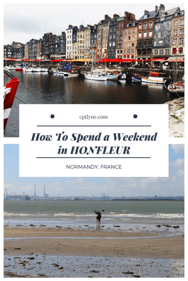 How to spend a weekend in Honfleur, Normandy. A quaint city only 2h away from Paris, perfect for a weekend getaway or even a day trip. Check out everything you can do in Honfleur, from the beach, the port and yummy food to eat.