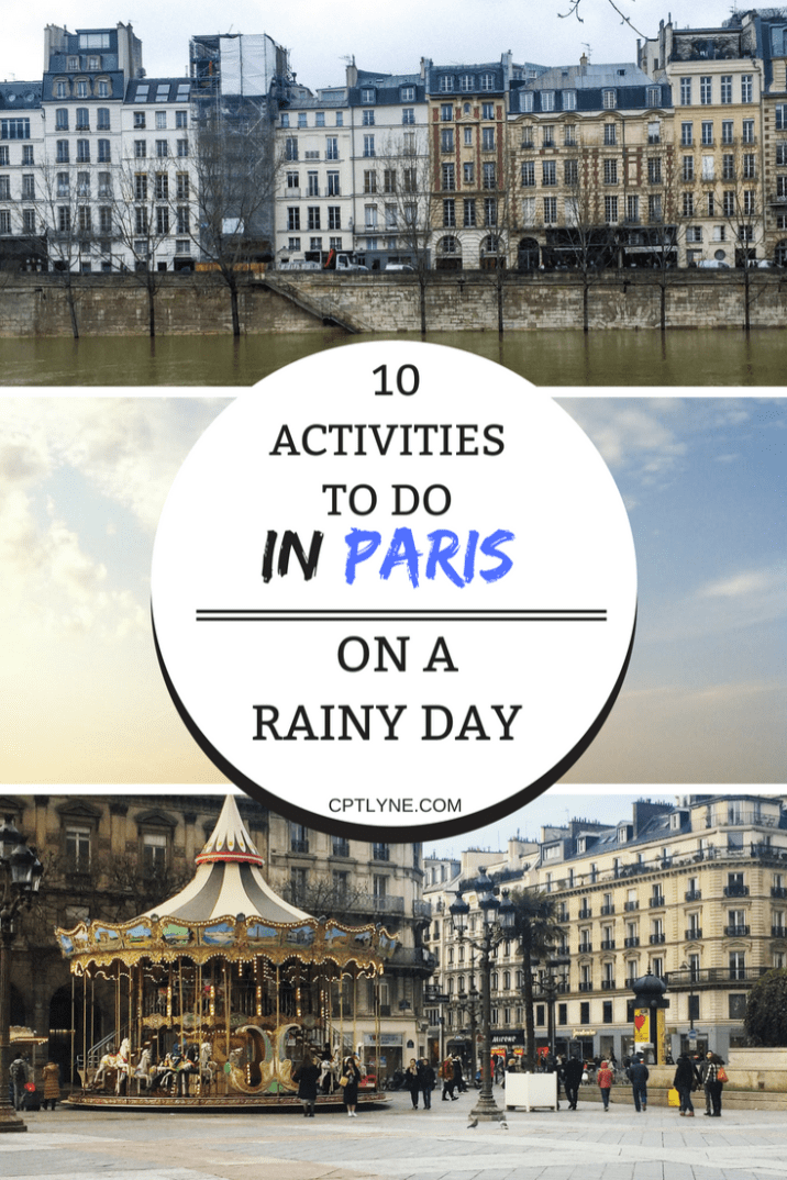 Find out what to do in Paris on a rainy day, with a lot of indoor activities to keep you busy through the day. | Europe Itinerary | Europe Travel #Paris #France #Travel