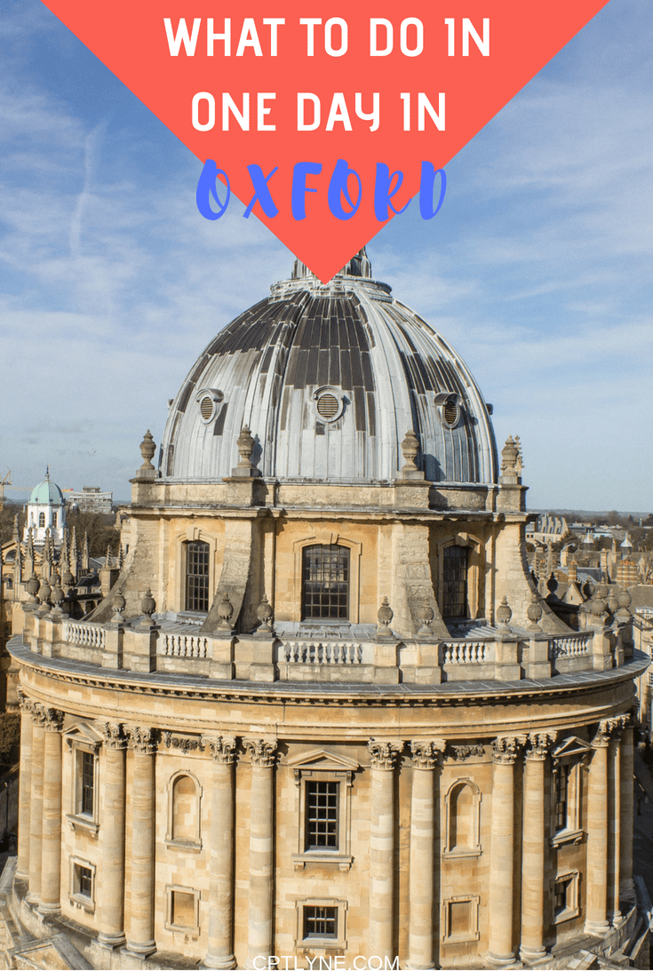 Looking for a nice day trip away from London (or elsewhere) Then head over to the architectural city of Oxford in England. Home to one of the oldest university in the world. Explore Oxford Castle, climb up Christ Church or visit Oxford Divinity School. See the top things to do in Oxford and discover this lovely and historical city with its iconic monuments with this little what do to in my one-day guide. #travel #England #Oxford #UK