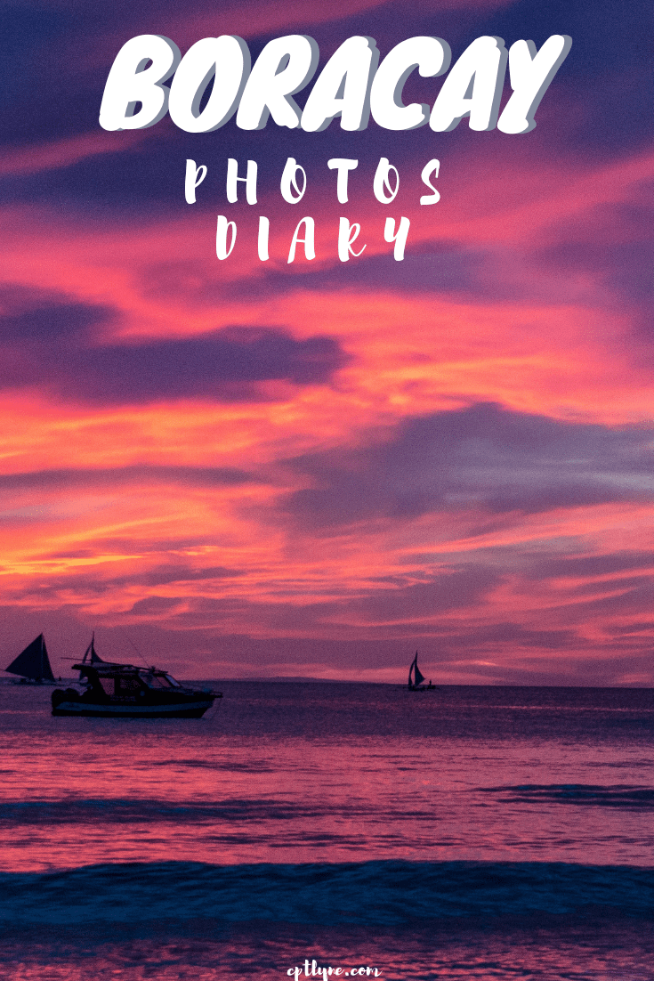 Boracay photos diary of this small island located in the Philippines in the Pacific ocean. With crystal water and white powdery sand it's a dream travel destination. #travel #photography #wanderlust