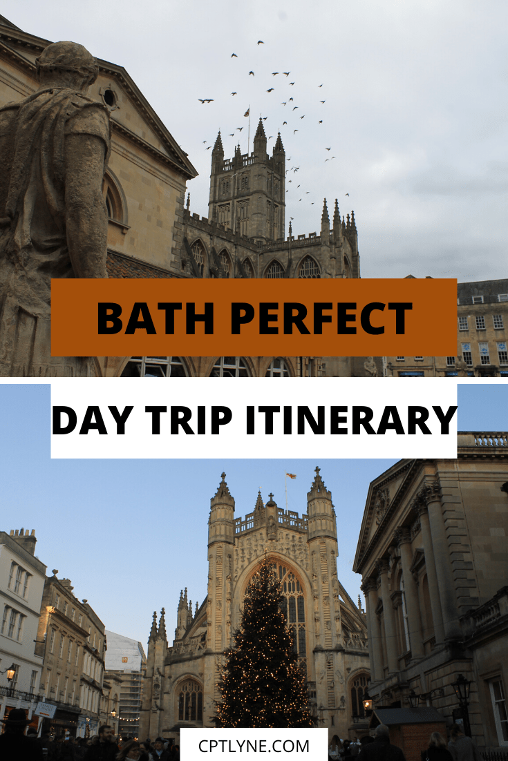 Bath is a quaint UNESCO heritage city in the South West of England and a must-visit city! It's a great getaway and a perfect winter destinations. If you only have one day to visit this city here are the best things to do in Bath in a day. With this 24 hours Bath day trip itinerary you'll see all the landmarks and discovered a lot of the culture of this rich city, from the Cathedral to the Roman Bath passing by the Royal Crescent! #traveltips #England #travelinspiration #Bath