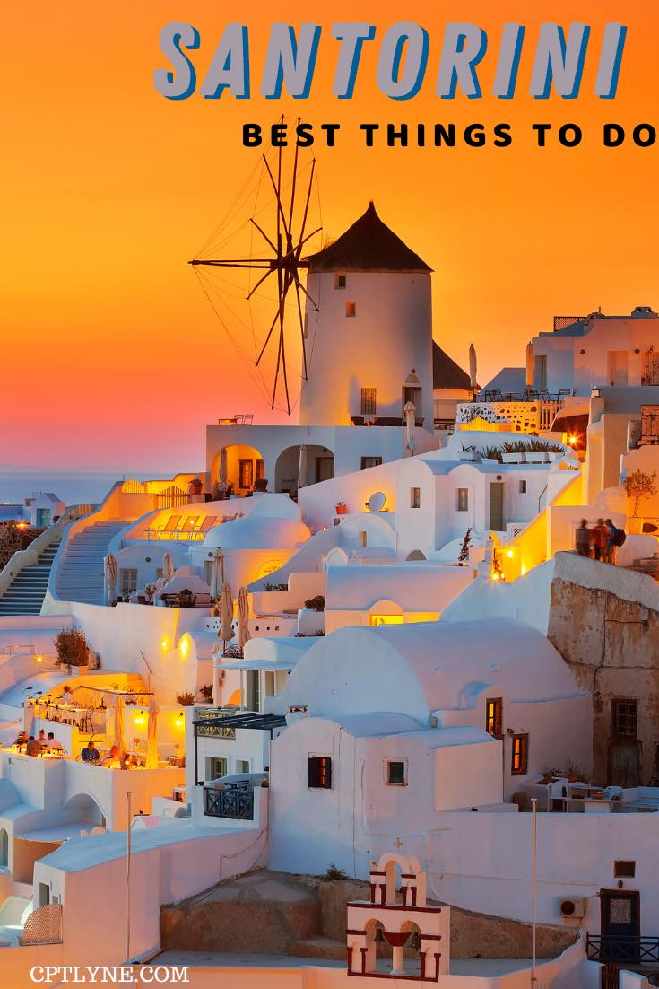 santorini top things to do