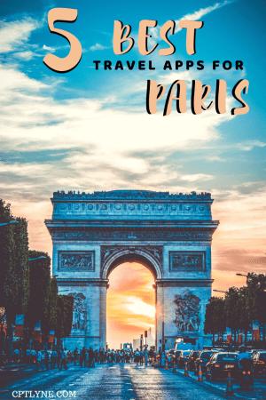 Paris travel apps - Arc De Triomple
