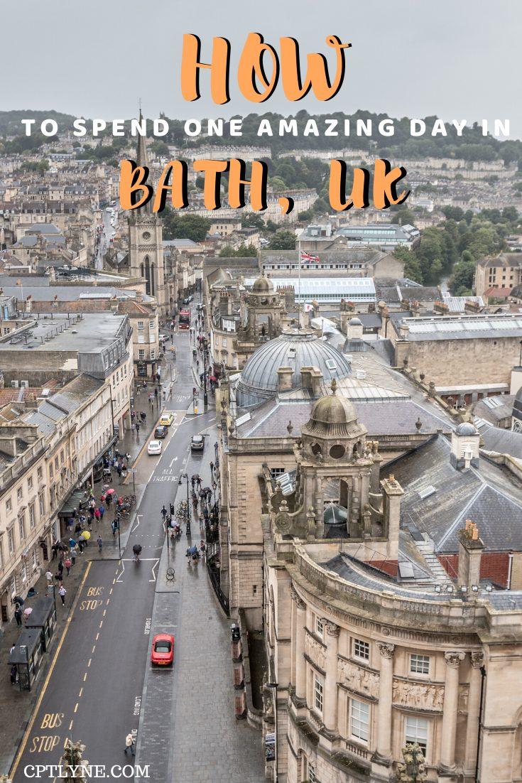 Day trip from Bristol, Bath