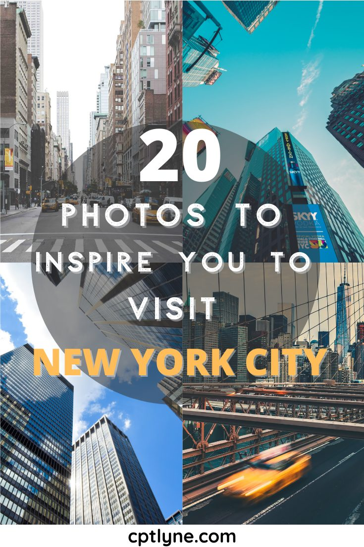 20 amazing photos of New-York City to inspire your next trip! New York Travel Tips | NYC Things to do | NYC Travel | New York City Travel | NYC Travel Guide | NYC Food Guide | NYC Photography