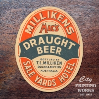 Vintage Liquor Labels