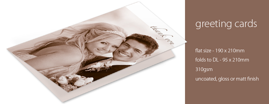 Custom Printed Greeting Cards - City Printing Works