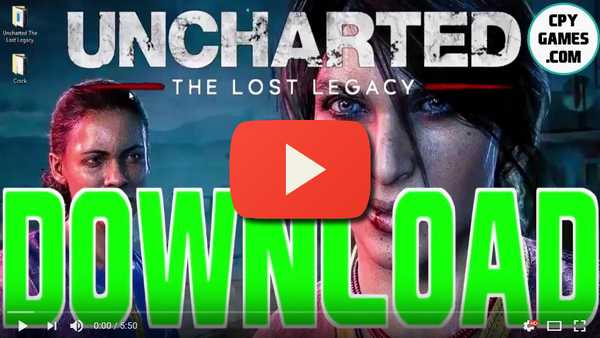 Uncharted The Lost Legacy PC Full Game Cracked Torrent - CPY