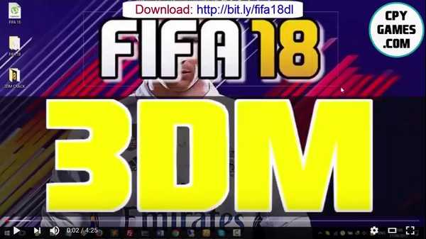 FIFA 18 3DM Crack Full PC Game Free Download - CPY GAMES