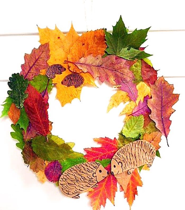 насекомых поделки из листьев своими руками фото осень было приказано уничтожить
