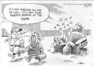 sports cartoon