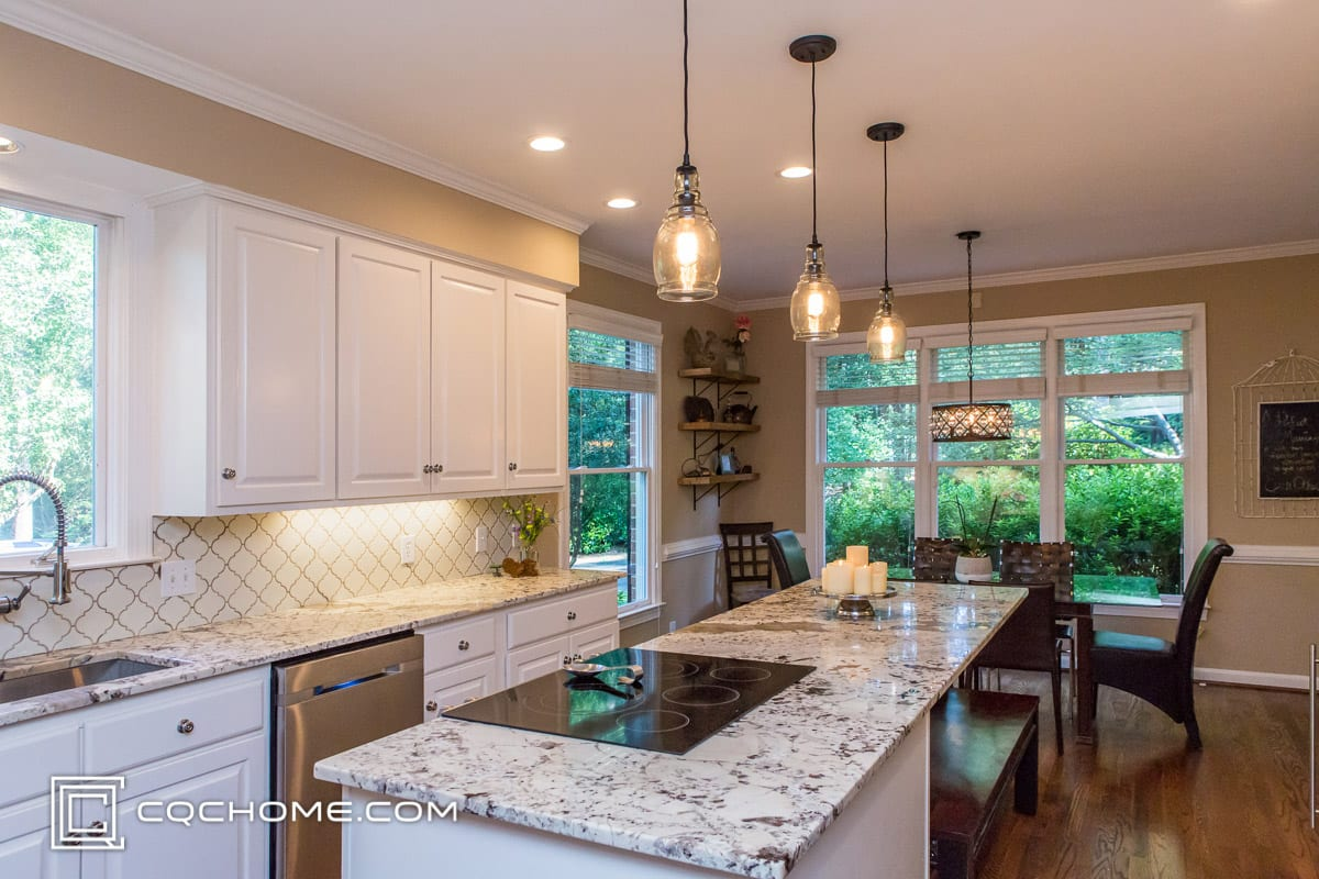 kitchen lighting pendant vs recessed lighting cqc home