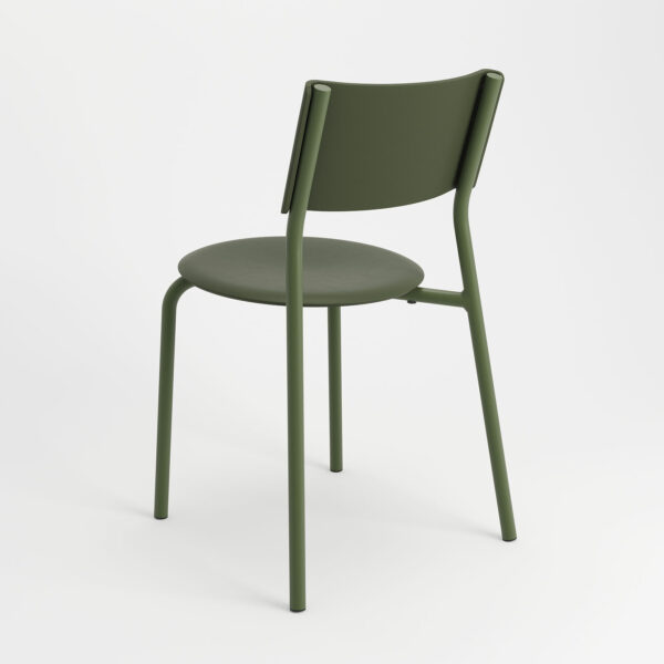 chaise ssdr vert romarin tiptoe plastique recyclé 6