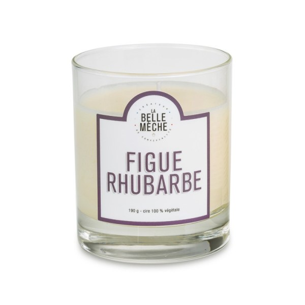 Bougie Figue Rhubarbe