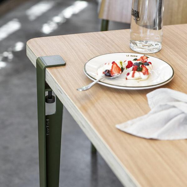 Pied de table serre-joint design 75cm
